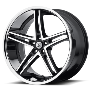ASANTI ABL-7 22x10 5x120.00 MACHINED FACE W/ SS LIP (35 mm)