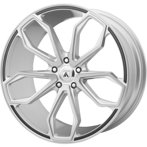 ASANTI ATHENA 22x9 5x120.00 BRUSHED SILVER (32 mm)
