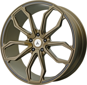 ASANTI ATHENA 22x9 5x120.00 SATIN BRONZE (32 mm)