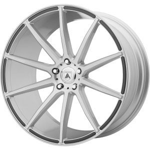 ASANTI ARIES 22x9 5x120.00 BRUSHED SILVER (32 mm)