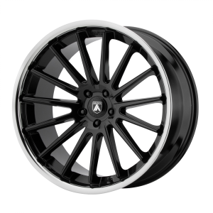 ASANTI BETA 24x9 5x120.00 GLOSS BLACK W/ CHROME LIP (32 mm)