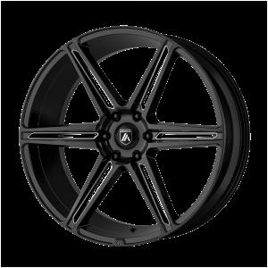 ASANTI ALPHA 6 24x10 6x139.70 GLOSS BLACK MILLED (30 mm)