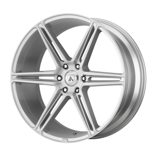 ASANTI ALPHA 6 24x10 6x139.70 BRUSHED SILVER (30 mm)