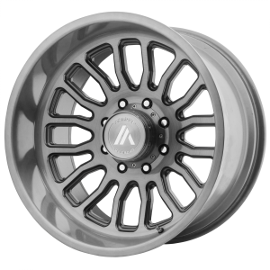 ASANTI WORKHORSE 22x12 8x180.00 TITANIUM-BRUSHED (-40 mm)