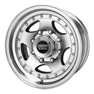 AMERICAN RACING AR23 16x8 8x170.00 MACHINED W/ CLEAR COAT (0 mm)
