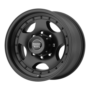AMERICAN RACING AR23 16x8 8x170.00 SATIN BLACK W/ CLEAR COAT (0 mm)
