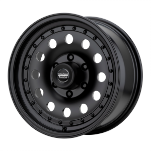 AMERICAN RACING OUTLAW II 17x8 8x170.00 SATIN BLACK (0 mm)