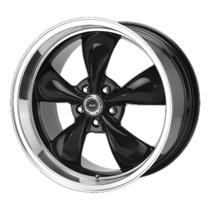 AMERICAN RACING TORQ THRUST M 20x10 5x120.00 GLOSS BLACK W/ MACHINED LIP (34 mm)  AR105M2112SSB