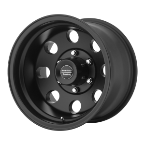 AMERICAN RACING BAJA 17x9 8x170.00 SATIN BLACK (-12 mm)