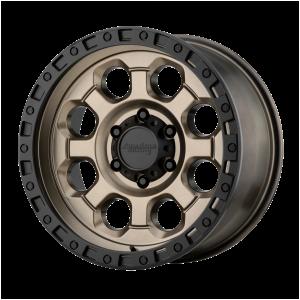 AMERICAN RACING AR201 18x9 8x180.00 MATTE BRONZE W/ BLACK LIP (0 mm)