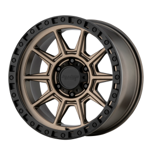 AMERICAN RACING AR202 17x9 8x165.10 MATTE BRONZE W/ BLACK LIP (-12 mm)