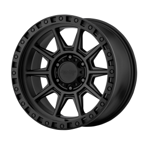 AMERICAN RACING AR202 17x9 8x165.10 CAST IRON BLACK (-12 mm)