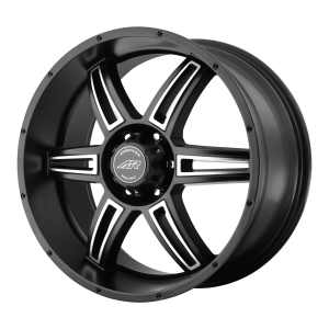 AMERICAN RACING AR890 20x8.5 6x139.70 SATIN BLACK MACHINED (35 mm)