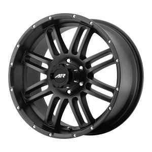 AMERICAN RACING AR901 17x8.5 8x180.00 SATIN BLACK (0 mm)