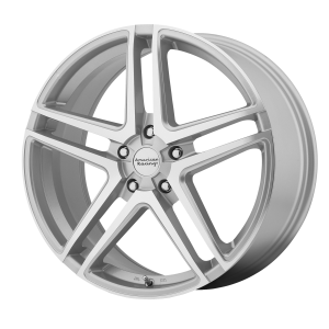 AMERICAN RACING AR907 17x7.5 5x115.00 SILVER MACHINED (42 mm)