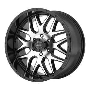 AMERICAN RACING AR910 18x9 8x180.00 GLOSS BLACK MACHINED (18 mm)