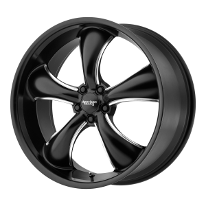 AMERICAN RACING TT60 20x9.5 5x120.00 SATIN BLACK MILLED (42 mm)