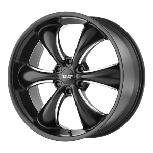 AMERICAN RACING TT60 TRUCK 18x8.5 6x139.70 SATIN BLACK  MILLED (30 mm)