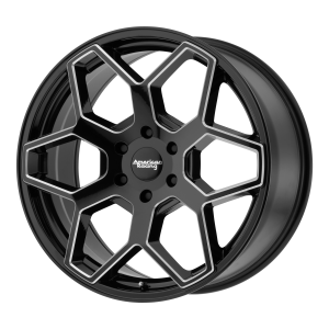 AMERICAN RACING AR916 18x8.5 6x139.70 GLOSS BLACK MILLED (15 mm)