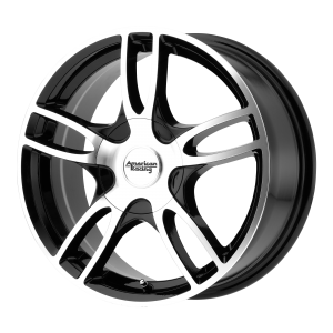 AMERICAN RACING ESTRELLA 2 17x7.5 5x114.30/5x120.00 GLOSS BLACK MACHINED (45 mm)