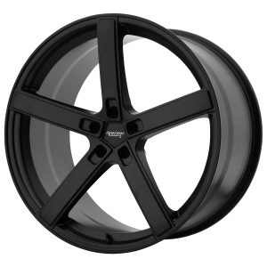 AMERICAN RACING BLOCKHEAD 20x9 5x120.00 SATIN BLACK (20 mm)