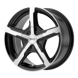 AMERICAN RACING TRIGGER 18x8 6x127.00 GLOSS BLACK MACHINED (38 mm)