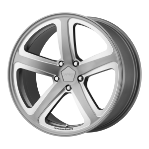 AMERICAN RACING HOT LAP 20x9 5x120.00 SATIN GRAY MILLED (25 mm)