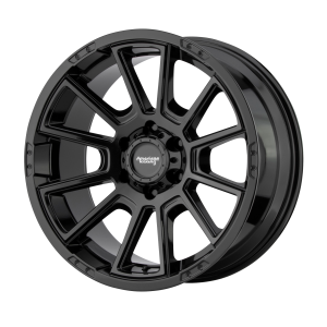 AMERICAN RACING INTAKE 18x8.5 6x139.70 GLOSS BLACK (18 mm)