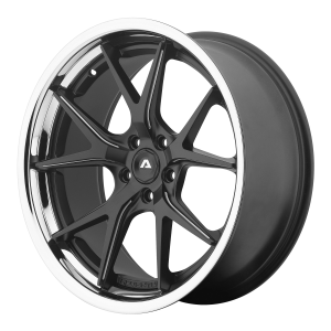 ADVENTUS AVS-3 22x10.5 5x115.00 MATTE BLACK MILLED W/ SS LIP (25 mm)