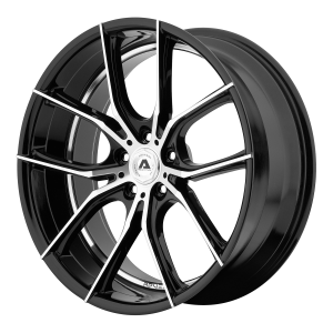 ADVENTUS AVX-6 22x10 5x112.00 GLOSS BLACK MACHINED (38 mm)
