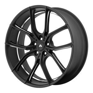 ADVENTUS AVX-6 22x10 5x120.00 MATTE BLACK MILLED (20 mm)