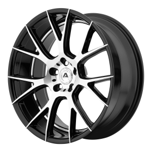 ADVENTUS AVX-7 22x9 5x120.00 GLOSS BLACK MACHINED (15 mm)