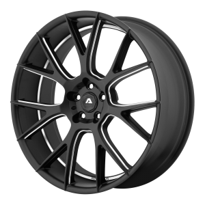 ADVENTUS AVX-7 22x10 5x120.00 MATTE BLACK MILLED (20 mm)