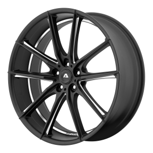 ADVENTUS AVX-10 22x9 5x120.00 MATTE BLACK MILLED (15 mm)