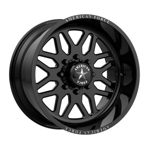 AMERICAN FORCE TRAX SS 22x10 8x180.00 GLOSS BLACK (25 mm)