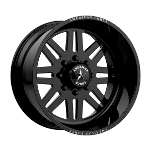 AMERICAN FORCE LIBERTY SS 22x16 8x180.00 GLOSS BLACK (-101 mm)