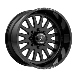 AMERICAN FORCE ATOM SS 22x16 8x180.00 GLOSS BLACK (-101 mm)