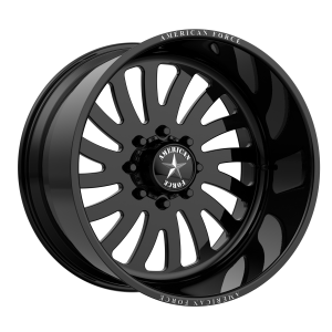 AMERICAN FORCE OCTANE SS 22x10 8x180.00 GLOSS BLACK - LEFT DIRECTIONAL (25 mm)