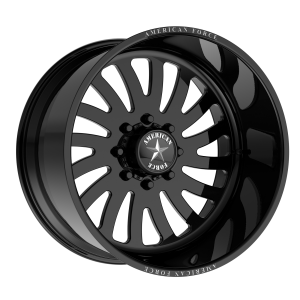 AMERICAN FORCE OCTANE SS 22x10 8x180.00 GLOSS BLACK - RIGHT DIRECTIONAL (25 mm)