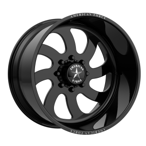 AMERICAN FORCE BLADE SS 22x10 8x180.00 GLOSS BLACK - RIGHT DIRECTIONAL (25 mm)