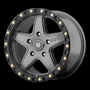 ATX RAVINE 20x10 5x127.00 MATTE GRAY W/ BLACK RING (-24 mm)