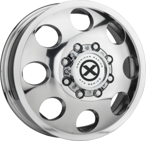 AMERICAN RACING BAJA DUALLY 16x6 8x170.00 POLISHED - FRONT (111 mm)
