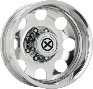 ATX BAJA DUALLY 16x6 8x170.00 POLISHED - REAR (-134 mm)