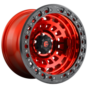 FUEL ZEPHYR BL - OFF ROAD ONLY 17x9 5x127.00 CANDY RED (-38 mm)  D10017907536