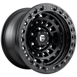 FUEL ZEPHYR BL - OFF ROAD ONLY 17x9 6x139.70 MATTE BLACK (-15 mm)
