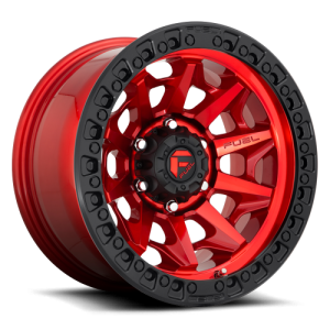 FUEL COVERT BL - OFF ROAD ONLY 17x9 6x139.70 CANDY RED (-15 mm)
