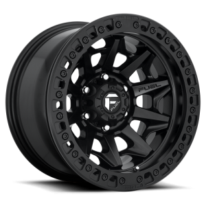 FUEL COVERT BL - OFF ROAD ONLY 17x9 6x139.70 MATTE BLACK (-15 mm)