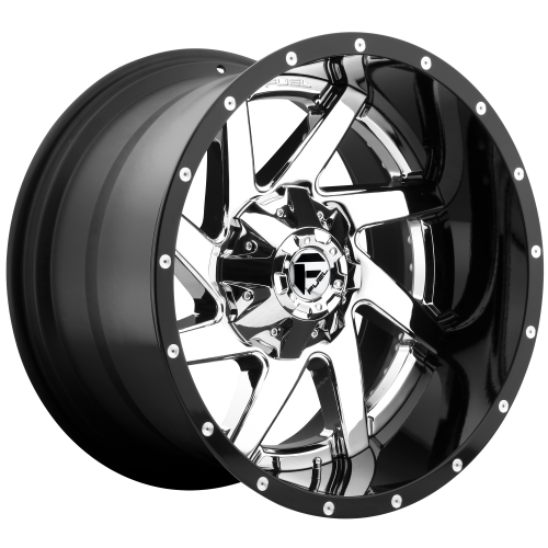 FUEL RENEGADE 20x12 8x165.10 CHROME PLATED GLOSS BLACK LIP (-44 mm)  D26320208247