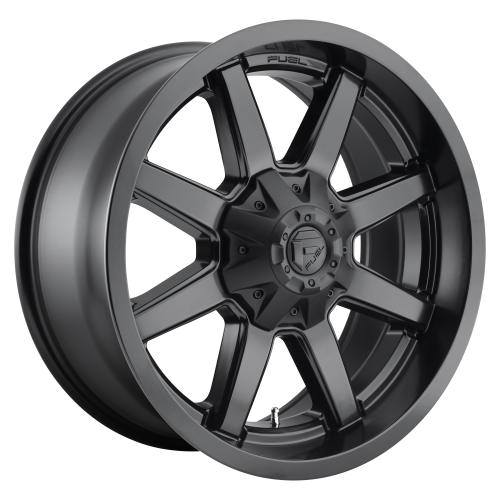 FUEL MAVERICK 20x8.25 8x210.00 MATTE BLACK (-221 mm)