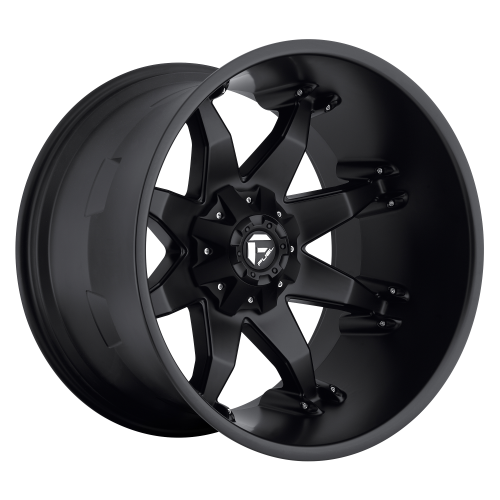 FUEL OCTANE 20x9 8x165.10 MATTE BLACK (1 mm)  D50920908250